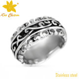 Jóia cinzelada clássica do anel do aço inoxidável de China