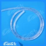 Tubo di drenaggio toracico del silicone medico dei materiali di consumo