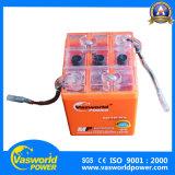 Batteria al piombo 4ah del gel personalizzabile del motociclo 12V