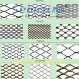 ステンレス鋼の機械を作る拡大された金属の網のグリル