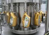 Máquina de etiquetado rotatoria automática de la máquina de rellenar de Doule del petróleo para las líneas de embalaje