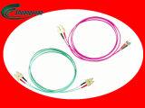 Sc d'usine de la Chine, FC, LC, type cordon de rue de connexion de fibre optique