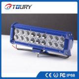 54W barra ligera del poder más elevado LED para la iluminación de la conducción de automóviles del carro