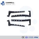 Placa Canwell Liss, placa de titanio, implantes de trauma y juegos de instrumentos