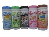 Limpieza no tejida toallitas de baño húmedas antibacterianas para el hogar