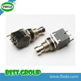 Interruttore di piede rotondo del metallo dell'interruttore del portello dell'interruttore di piede (FBELE)