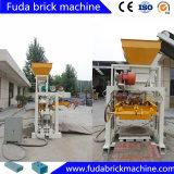 Linha de produção de bloqueio de bloqueio de concreto semi-automático