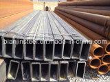 Qualitäts-rechteckiges Stahlrohr mit Carboon Stahl