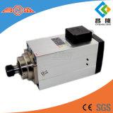 asse di rotazione quadrato di CNC di raffreddamento ad aria di 12kw Er40 300Hz