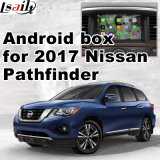 Casella Android di percorso della video interfaccia dell'automobile per Nissan Pathfinder 2017, parte posteriore Android di percorso e panorama 360 facoltativi