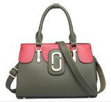 方法スネークスキンの固定形袋PUの女性のハンドバッグ