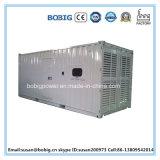 ATS를 가진 1250kVA 침묵하는 유형 Weichai 상표 디젤 엔진 발전기