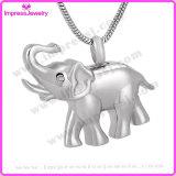 Pendente Polished Ijd9743 dell'elefante dei monili dell'urna di cremazione
