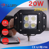 "20W 3"" LED Light Work Offroad phares 4X4"