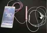 Microphone mobile de karaoke de fiche sonore de haute fidélité principale en métal mini