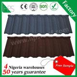 50 anni della garanzia di durata della vita del metallo di mattonelle di tetto lunghe