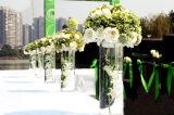 Vases à fleur acryliques de Customerized pour la célébration de mariage