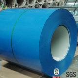 покрашенная 5+15um/5um катушка PPGI покрынная цветом стальная
