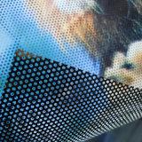 Etiquetas engomadas unidireccionales modificadas para requisitos particulares de la visión del vidrio de ventana de la talla con la impresión de los gráficos
