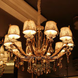 Hotel Project Crystal Chandelier Customer Light com Ce, UL RoHS