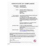 bande d'Osram 5630 IP20 DEL de conformité de cUL