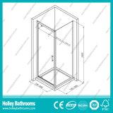 Erstklassige Aluminiumscharnier-Patio-Tür mit ausgeglichenem lamelliertem Glas (SE918C)