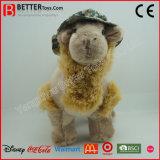 Qualitäts-weiches Spielzeug-Kamel in einem Hut