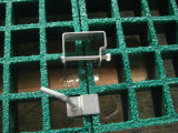 Rejillas de fibra de vidrio pultrudadas como cubierta o plataforma o pavimento