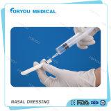 Foryou医学のSuntouchの湾曲の外科Epistaxis PVAに服を着せる鼻の着服PVAの鼻のスポンジのNaslaのパッキング