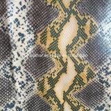 大蛇の腹穀物袋の戦闘状況表示板の札入れHx-B1713のための総合的なPUの革