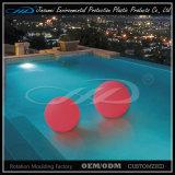 Esfera plástica impermeável moldando rotatória material do diodo emissor de luz do PE