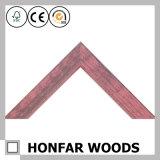 Het Roze Houten Frame van de goede Kwaliteit voor Decoratief Beeld