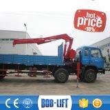 Grue montée par camion hydraulique de boum de porte-fusée à vendre Sq5za2