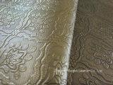Il cuoio metallico del PVC per la tappezzeria e l'ammortizzatore del sofà ha coperto