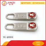 20 años Fabricante Metal Name Tag Metal Zip Puller