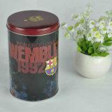 Коробки олова конфеты, коробка олова с крышкой, круглым оловом