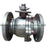 Extrémité de bride d'acier inoxydable de robinet à tournant sphérique