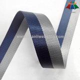 Webbing полиэфира 2.5cm 3cm Bicolour Striped Nylon