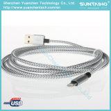 USB cobrando rápido ao cabo 2.0A do relâmpago para o iPhone 5/6/7
