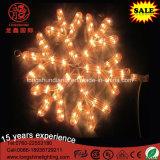 LEDの暖かく白い雪片の吊り下げ式の星のクリスマス・パーティの装飾のための第2モチーフロープライト