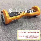 Des Cer Un38.8 FCC-RoHS Motor Hoverboard Selbstausgleich-elektrischer Roller-LED Bluetooth 500W mit UL 2272