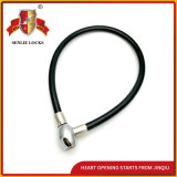 Trois couleurs Pvu en acier de sécurité Cable Lock