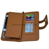 안쪽으로 금속 프레임을%s 가진 새로운 디자인 지갑 또는 다기능 PU 지갑