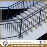 Роскошный напольный Railing лестницы ковки чугуна для здания