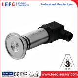 Transmisor de presión del diafragma con la conexión de proceso higiénica G1