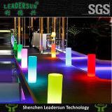 Muebles ligeros de la columna de la boda de la iluminación del cilindro de la decoración del LED (LDX-A07)