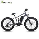 bicyclette électrique du gros pneu 26inch avec le moteur détraqué