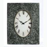 Квадратные часы стены металла для домашнего украшения