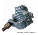 Goutte forgée en acier à double accouplement à l'aide d'une pince d'échafaudage en acier dans les échafaudages