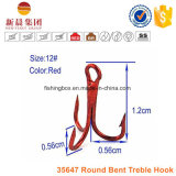 Crochet 35647 triple courbé rond